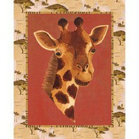 Art 4 Kids Out of Africa Giraffe Wall Art - 21462
