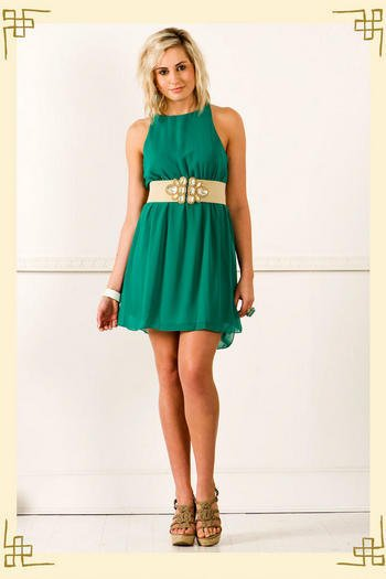 Grasshopper Dress