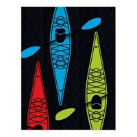 kayakRBG poster from Zazzle.com