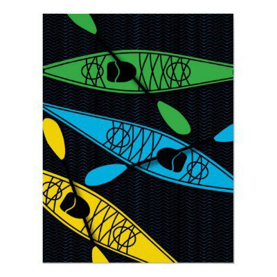 KayakGBY Poster from Zazzle.com