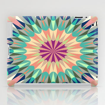 Cool Pink Retro Geometry #2 iPad Case by 2sweet4words Designs