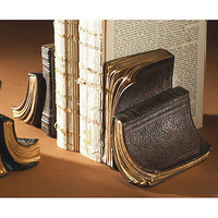 vintage book bookends by the orchard | notonthehighstreet.com