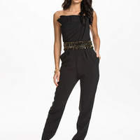Phyllis Jumpsuit - Forever Unique - Black - Jumpsuit - Clothing - Women - Nelly.com