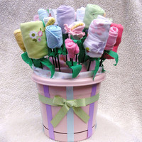 Baby Girl Mega Bouquet- The Ultimate Unique Baby Gift