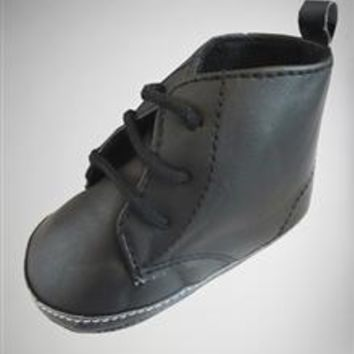 Infant Black Doc Boots
