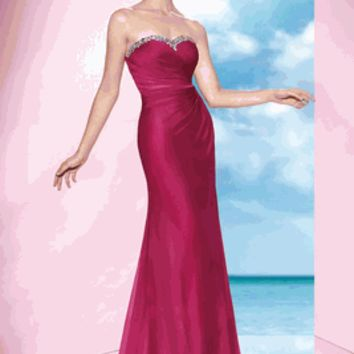 Alyce 2014 Style 35623 Size 0 New Champagne