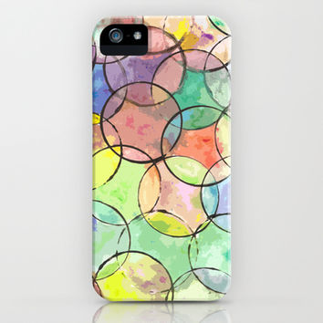 Circle, Circle, Circle..... iPhone & iPod Case by Traci Maturo Illustrations