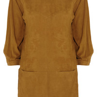 Isabel Marant Perforated suede mini dress – 55% at THE OUTNET.COM