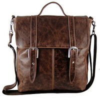 unisex &#x27;dylan&#x27; messenger bag by freeload accessories | notonthehighstreet.com
