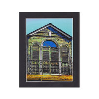 Architecture, New Orleans Window, 4x6 art print