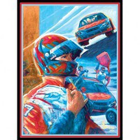 Art 4 Kids Stock Car Driver Wall Art - 21610