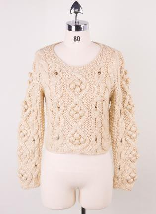 Retro Cozy Up Woolen Sweater