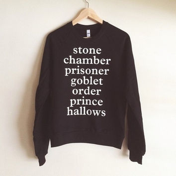 Harry Potter lowercase Sweatshirt - Made in USA