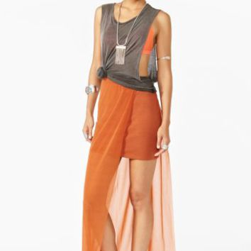 Chizu Skirt - Copper