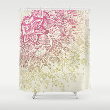Lovely Lady Shower Curtain by rskinner1122
