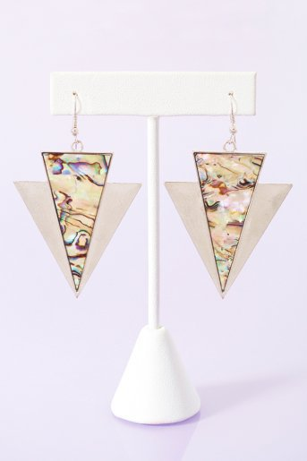 Abalone Arrow Earrings