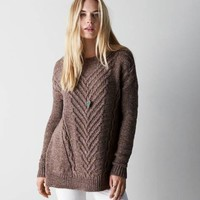 AEO SOFT CABLE SWEATER