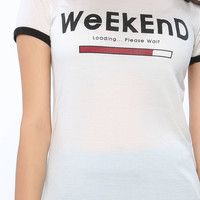 Weekend Loading Graphic Top