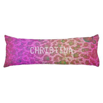 ? Animal Print Abstract Pattern Custom Bodypillows