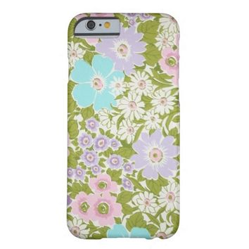 Vintage Retro Floral pattern iPhone 6 case