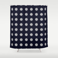 Little Daisies Shower Curtain by KJ53321 | Society6