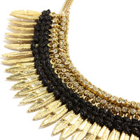 Wings of Love Gold Feather Necklace