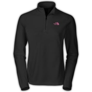 The North Face Women's Pink Ribbon Glacier Quarter Zip Pullover - Dick's Sporting Goods