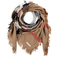 Burberry Shoes & Accessories - Wool Checked Square Scarf