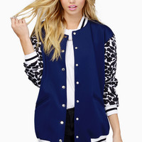Finders Keepers Once Again Bomber Jacket $170