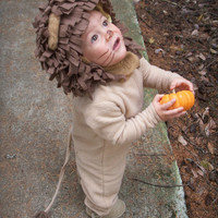 Lion Halloween Costume for Boys or Girls
