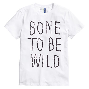 H&M - T-shirt with Printed Design