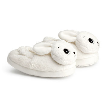 H&M - Bunny Slippers - White