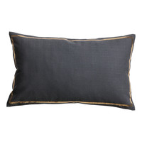 H&M - Cotton Cushion Cover - Charcoal gray
