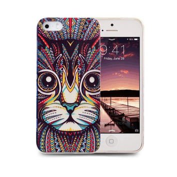 Trippy Cat Design for iPhone 5 / 5s