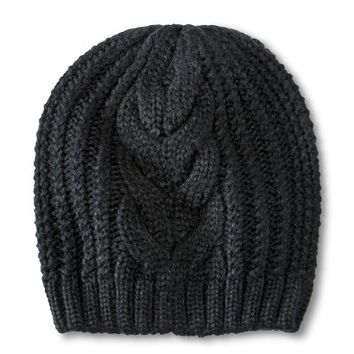 Women's Cable Knit Beanie Hat