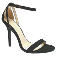 Black Ankle Sandals