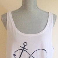 Infinity Anchor Cropped Top