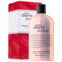 Have A Cherry Christmas Shampoo, Shower Gel & Bubble Bath - philosophy | Sephora