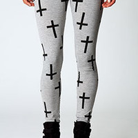Summer Cross Print Leggings