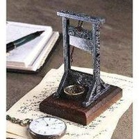 Desk-Sized Guillotine - SP0427 - Design Toscano