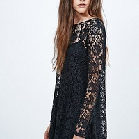 Pins & Needles All-Over Lace Slip Dress - Urban Outfitters