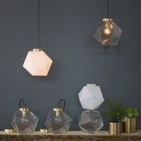 Fuller Pendant - Clear Glass