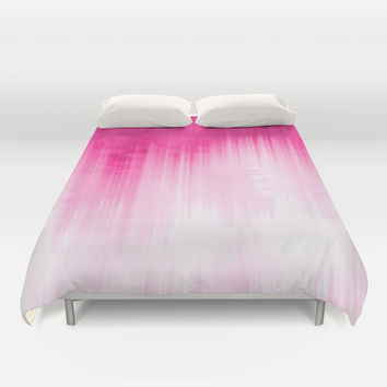 Pink Duvet Cover by Ornaart
