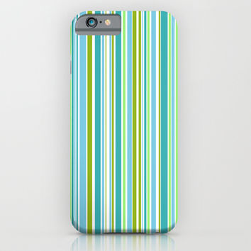 Candy Stripe 1 iPhone & iPod Case by Alice Gosling