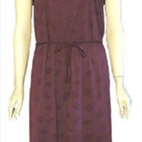 Plum 70s Vintage Disco Dress