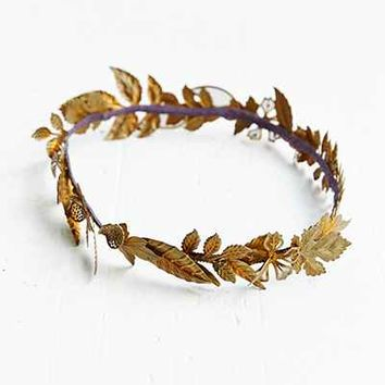 Golden Autumn Crown - Urban Outfitters