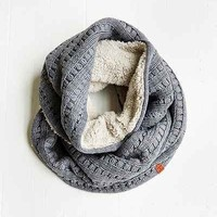 Bickley & Mitchell Pointelle Knit Eternity Scarf-