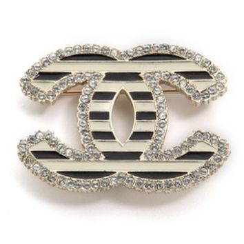 What Goes Around Comes Around Vintage Chanel CC Brooch
