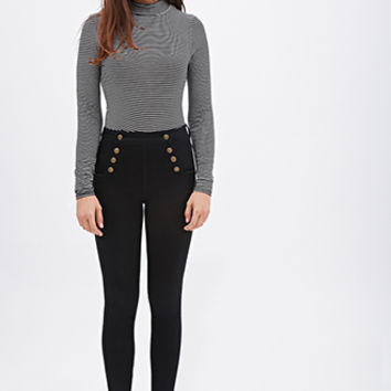 Mid-Rise - Sailor Skinny Jeans