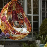 Knotted Melati Hanging Chair?-?Anthropologie.com